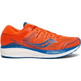 saucony Hurricane ISO 5 Buty do biegania Mężczyźni pomarańczowy/niebieski